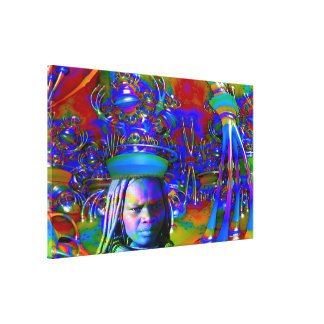 Magic Hat Gallery Wrap Canvas