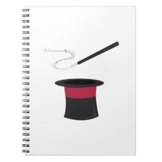 Magic Hat Note Book