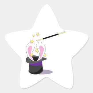 Magic Hat Star Stickers