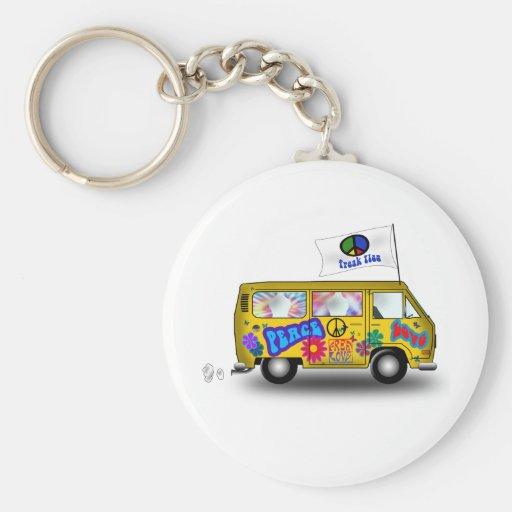 Magic Hippie Van Keychains
