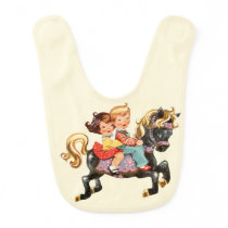 Magic Horse Baby Bib
