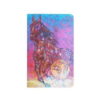 Magic horse surf n sun - Magic Pocket Journal