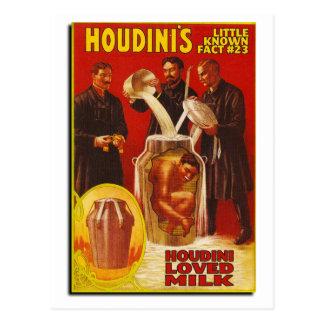 Magic - Houdini Postcard