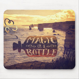 Magic in a Bottle Twelve Apostles Great Ocean Road Mousepad