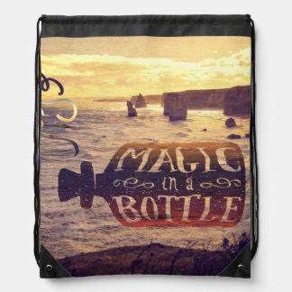 Magic in a Bottle Twelve Apostles Great Ocean Road Cinch Bag