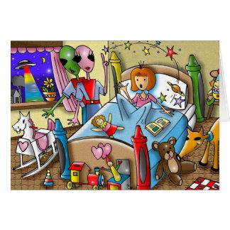 Magic in dreams by Gregory Gallo Card