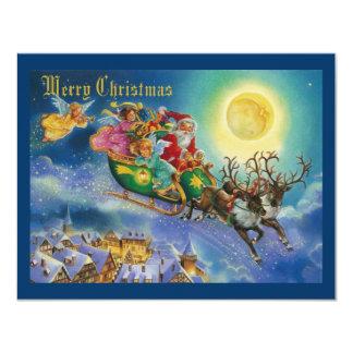 Magic in the air christmas invitation