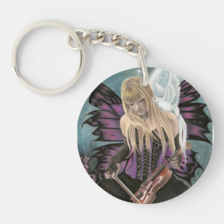 Magic in the night - by Rajacenna Keychain