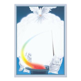 Magic © 5x7 paper invitation card