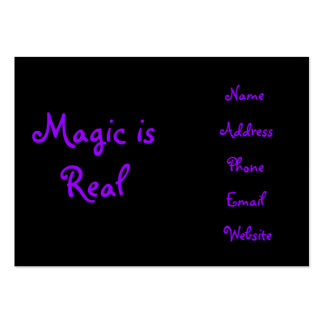 Magic is Real-business cards Large Business Card