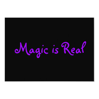 Magic is Real-invitations Card