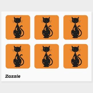 Magic Kitty Sticker