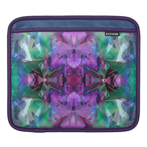 Magic Lamp 4 Glowing Abstract Sleeves For iPads