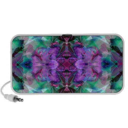 Magic Lamp 4 Glowing Abstract Mini Speakers