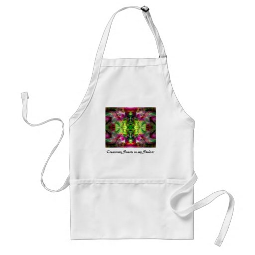 Magic Lamp 5 Colorful Abstract Aprons