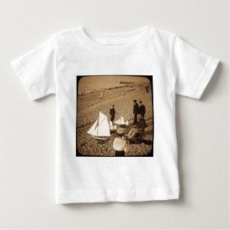 Magic Lantern Slide  Seaside at Dieppe France Baby T-Shirt