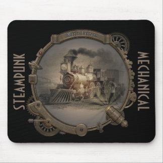 Magic Lantern - Steampunk Style Frame. Mouse Pad
