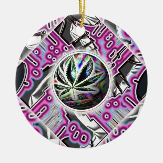 Magic Leaf Ornament