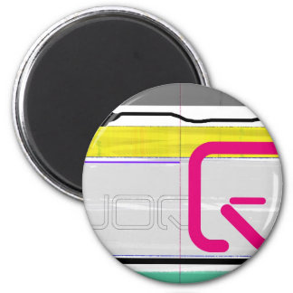 Magic Letters 2 Inch Round Magnet