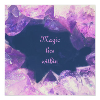 Magic lies within poster