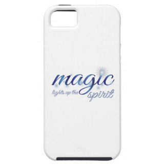 Magic Light Up The Spirit Cover For iPhone 5/5S