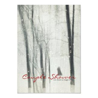 Magic Love Couple Shower 5x7 Paper Invitation Card