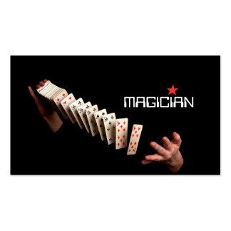 Magic Magician Card Poker Trick Entertainment Business Cards