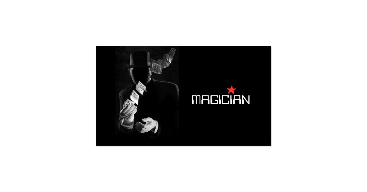 Last Bing Queries & Pictures for Magician Business Cards