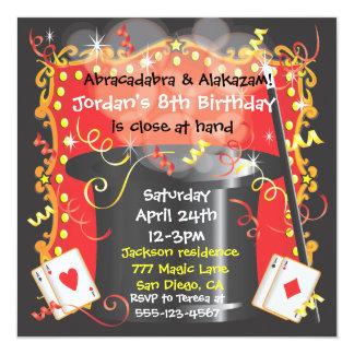 Magic Magician Party Invitation