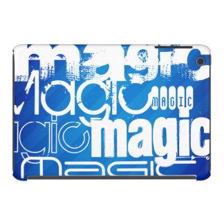 Magic, Magician; Royal Blue Stripes iPad Mini Covers