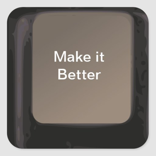 Magic Make it Better Button Get Well Soon Stickers
