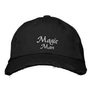 Magic Man Custom Embroidered Hat
