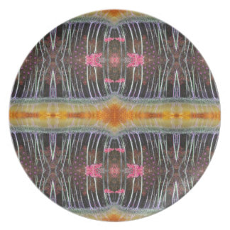 Magic mangrove forest melamine plate