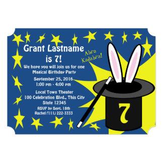 Magic Me Birthday 5x7 Paper Invitation Card