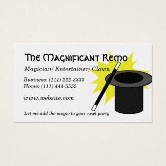 Magic Me/ Magician Business Card