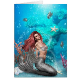 Magic Mermaid Greeting Card