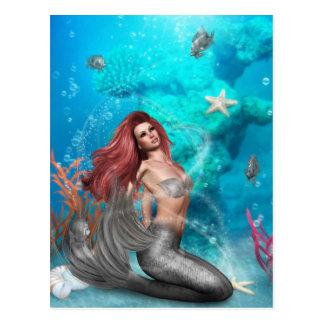 Magic Mermaid Postcard