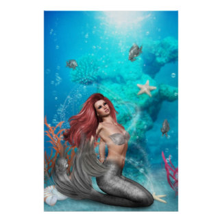 magic Mermaid Poster