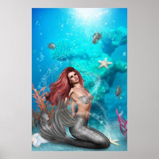 magic Mermaid Poster
