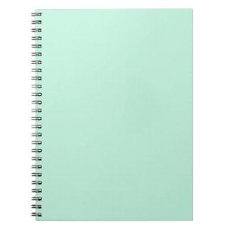 Magic Mint Spiral Note Book