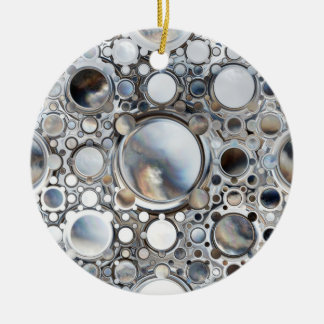 Magic Mirrors Ceramic Ornament