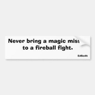Magic Missile Bumper Sticker