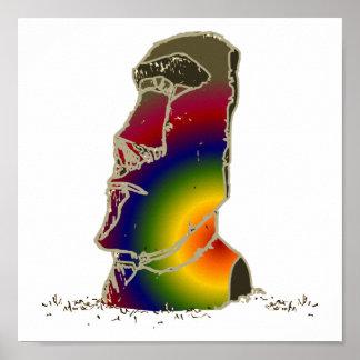 Magic Moai Poster
