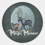 Magic Moment Classic Round Sticker