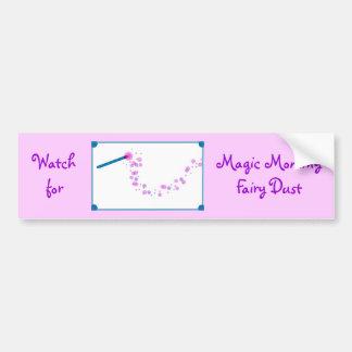Magic Mommy Fairy Dust Bumper Sticker