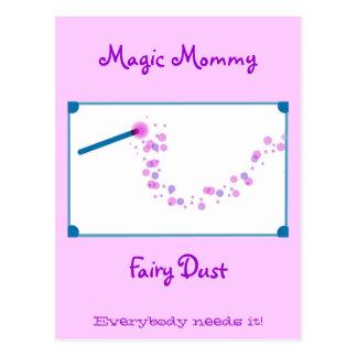 Magic Mommy Fairy Dust Postcard
