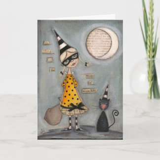 Magic Moon - Greeting Card