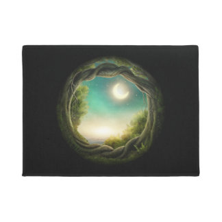 Magic Moon Tree Doormat