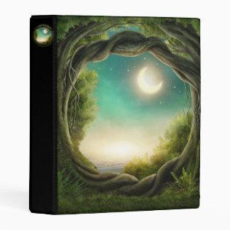 Magic Moon Tree Mini Binder