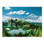 Magic Mountain - tarjeta postal